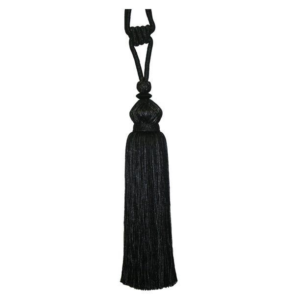 Crown Black Tieback
