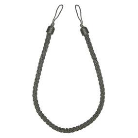 Orion Grey Rope Tieback