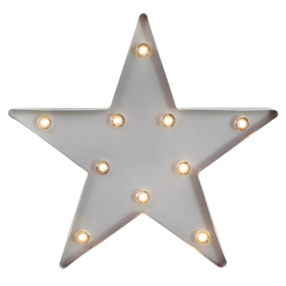 Star Shaped Grey Light Grey