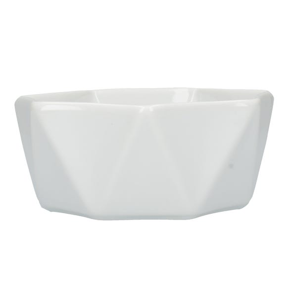Elements White Quartz Bowl White