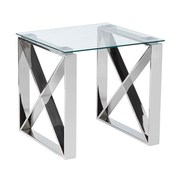 5A Fifth Avenue Madison Side Table Chrome