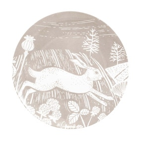 Woodland Taupe Side Plate