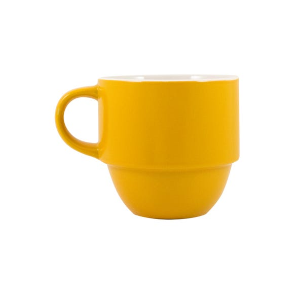 Elements Ochre Stacking Mug Ochre (Yellow)