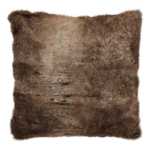 Verbier Faux Fur Cushion Natural undefined