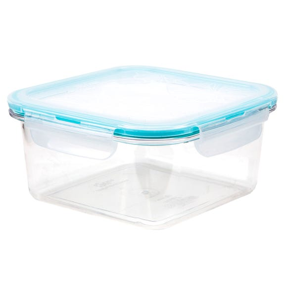 Clearly Lock & Lock Square 930ml Container Clear