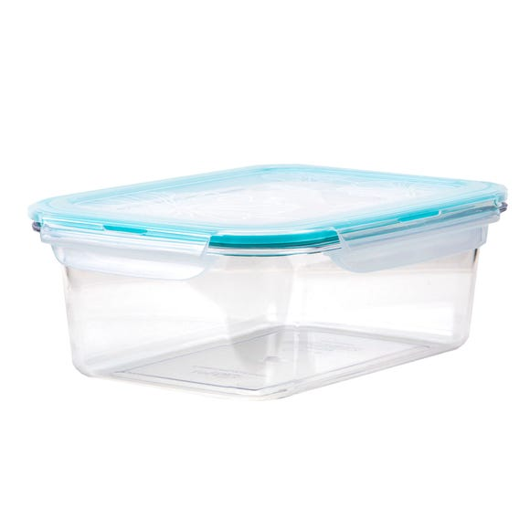 Clearly Lock & Lock Rectangular 460ml Container Clear
