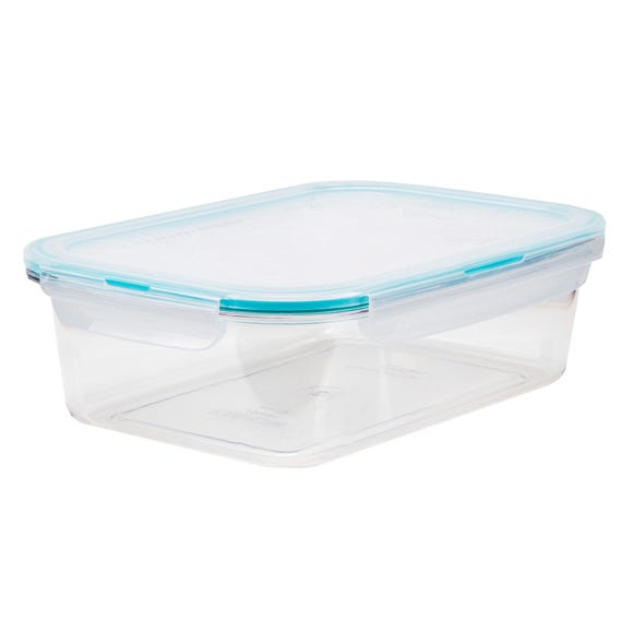 Clearly Lock & Lock Rectangular 760ml Container Clear