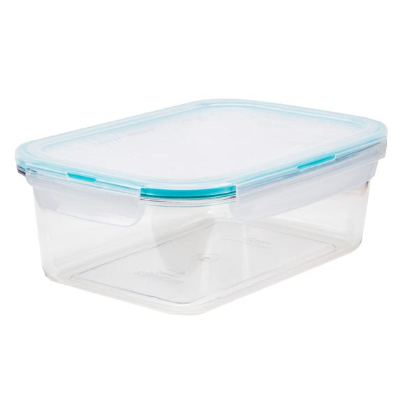 Clearly Lock & Lock Rectangular 1.2 Litre Container Clear