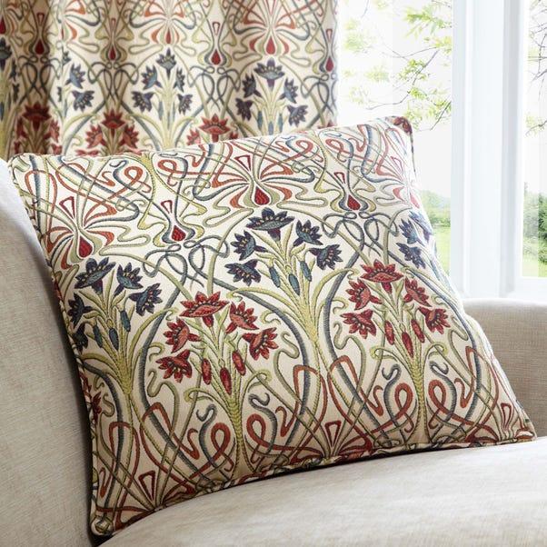 Lucetta Jewel Cushion Jewel (Red)