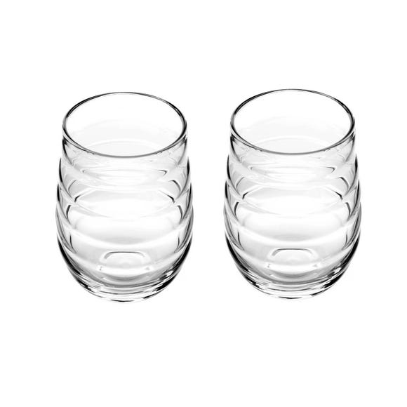 Sophie Conran for Portmeirion Balloon Set of 2 High Ball Glasses Clear