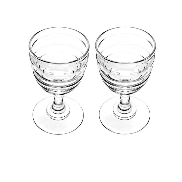 Sophie Conran for Portmeirion Set of 2 Large Wine Glasses Clear