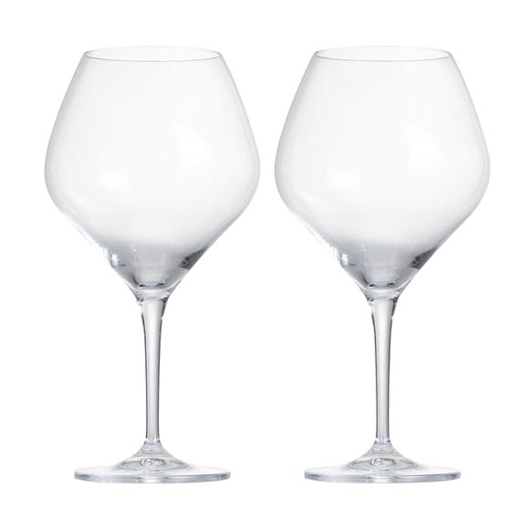 Pack of 2 Gin Glasses Clear