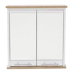 Amalfi White Mirror Cabinet