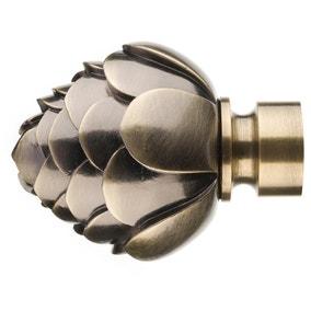 Mix and Match Antique Brass Dia. 28mm Artichoke Flower Finials