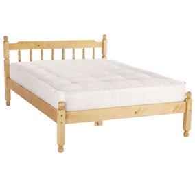 Spindle Honey Bed Frame