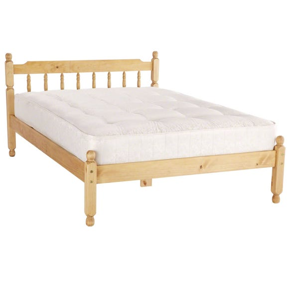 Spindle Natural Waxed Bedstead Natural undefined