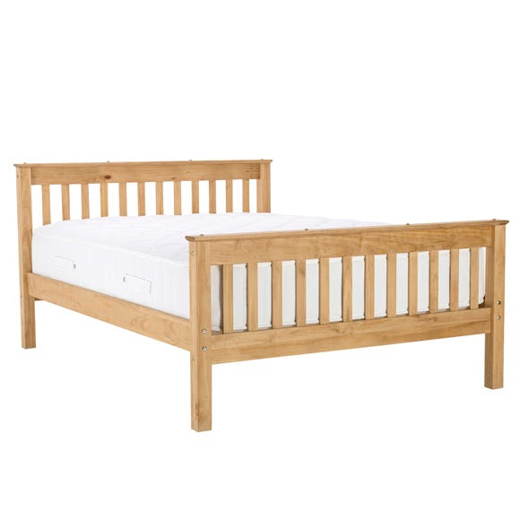 Somerset Natural Bedstead  undefined