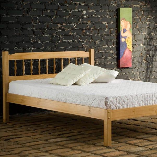Santos Antique Pine Bedstead  undefined