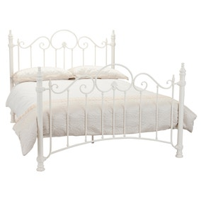 Floss White Bedstead