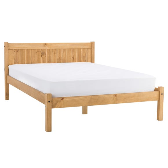 Maya Bed Frame Wood (Brown) undefined