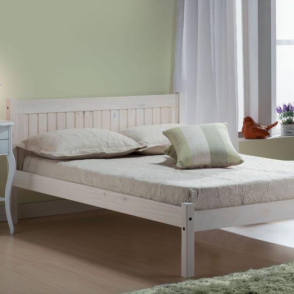 Rio Whitewash Bed Frame  undefined
