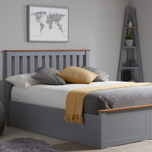 Winslow Ottoman Bed Frame Grey undefined