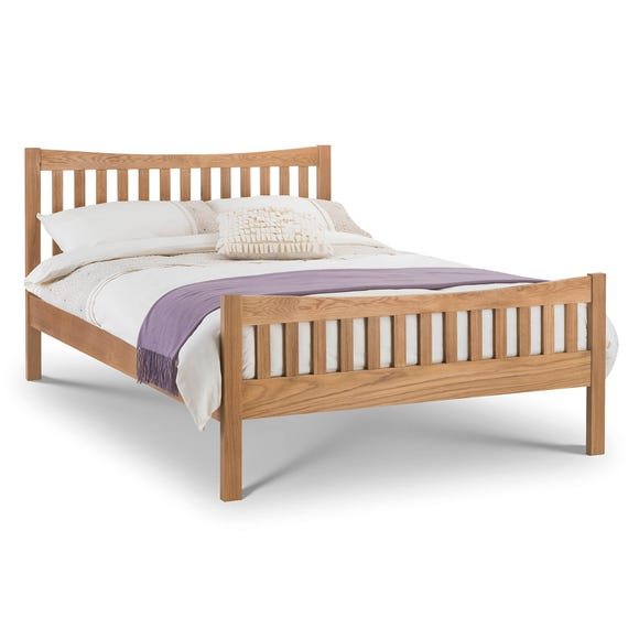 Bergamo Solid Oak Bedstead Oak (Brown)