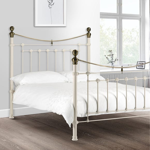 Evie White Bedstead  undefined