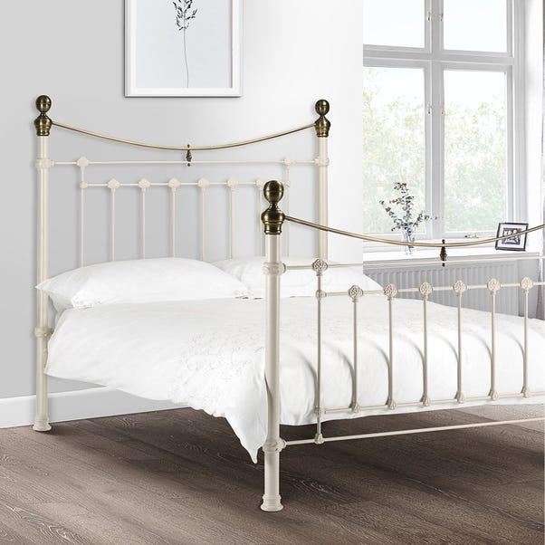 Evie White Bed Frame  undefined