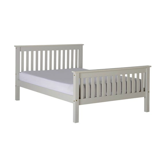 Monaco Grey Low Foot End Bed Frame  undefined