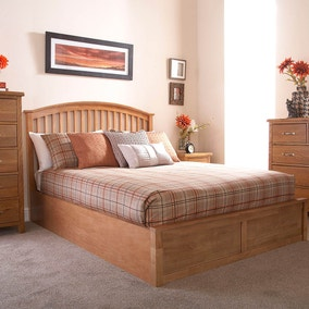 Madrid Wooden Ottoman Bed