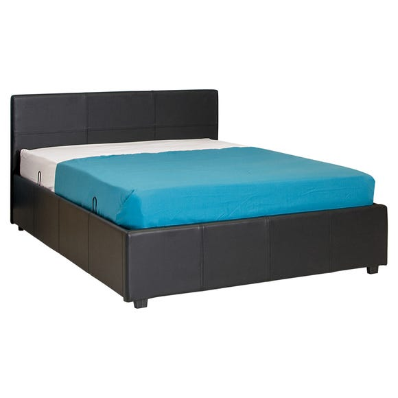 Seattle Brown Ottoman Bedframe Brown undefined