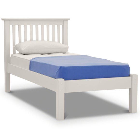 Barcelona Low Foot End Bed Frame White undefined