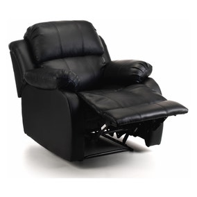 Anton Bonded Leather Reclining Leather Armchair