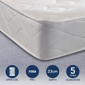 Silentnight Miracoil 3 Moretto Quilted Mattress
