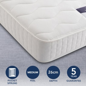 Silentnight 1000 Pocket Mattress