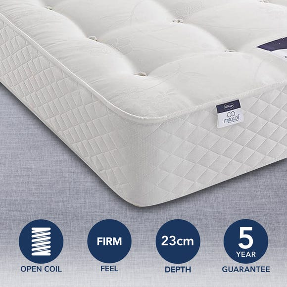 Silentnight Miracoil Ortho Mattress  undefined