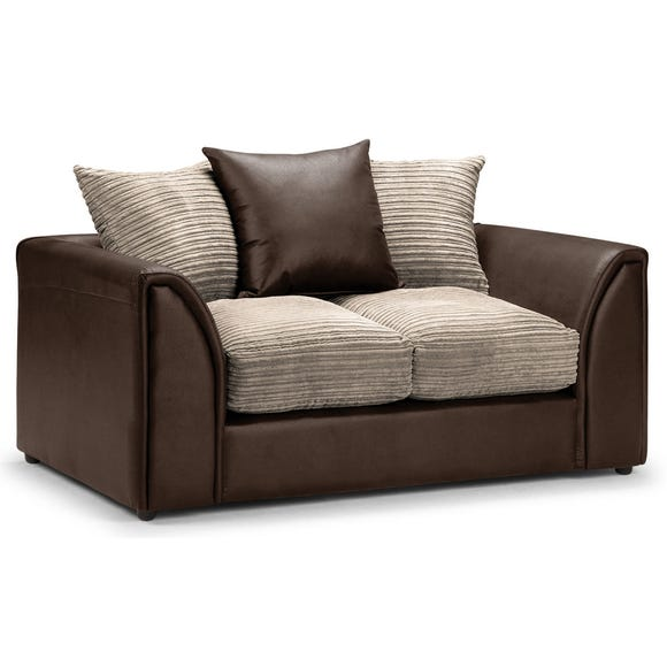 Byron 2 Seater Sofa Brown
