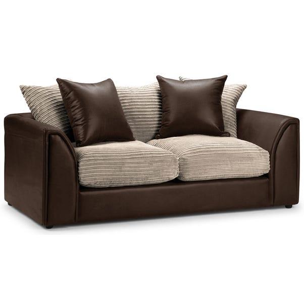 Byron 3 Seater Sofa Brown
