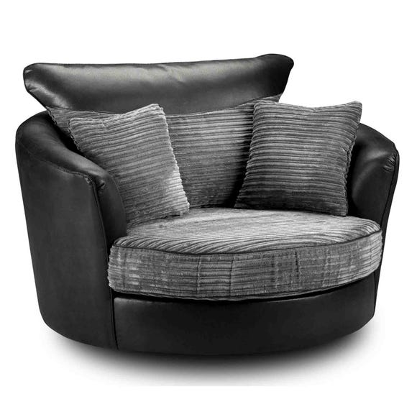 Byron Swivel Chair Black