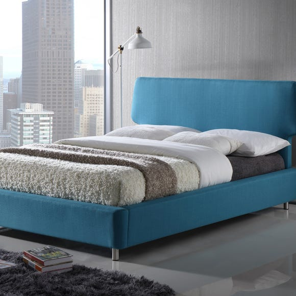 Sienna Teal Fabric Bed  undefined