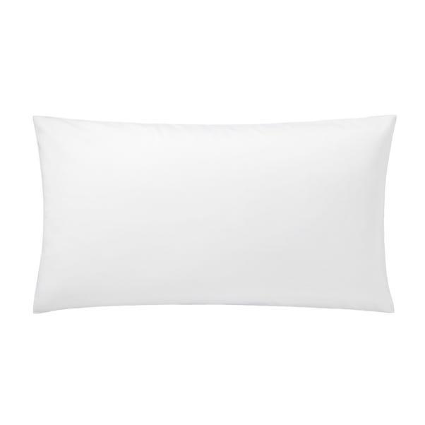5A Fifth Avenue Egyptian Cotton Sateen 300 Thread Count Plain White Kingsize Pillowcase