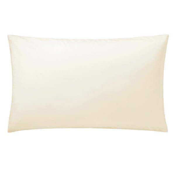 5A Fifth Avenue Egyptian Cotton 300 Thread Count Plain Cream Kingsize Pillowcase Cream
