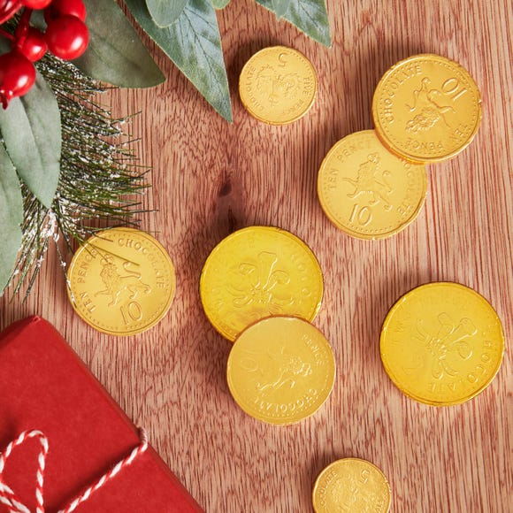 Chocolate Coins  Gold