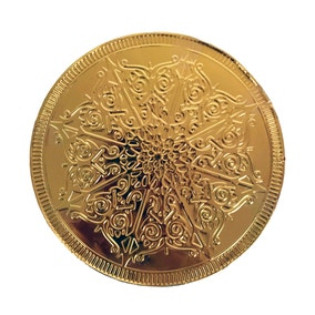 Giant Chocolate Gold Coin