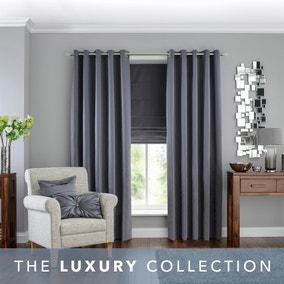 5A Fifth Avenue Venice Grey Blackout Eyelet Curtains