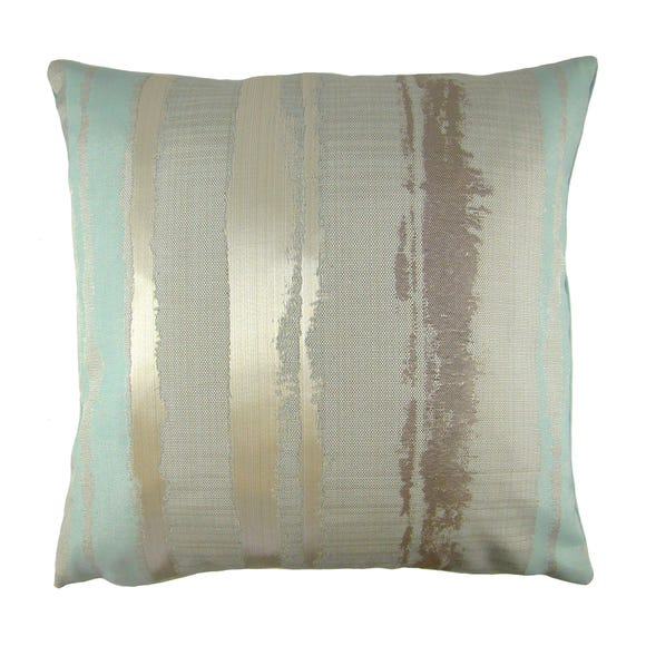 Margo Stripe Cushion Cover Duck Egg (Blue) undefined