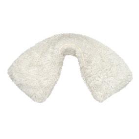 Teddy Cream Neck Wrap