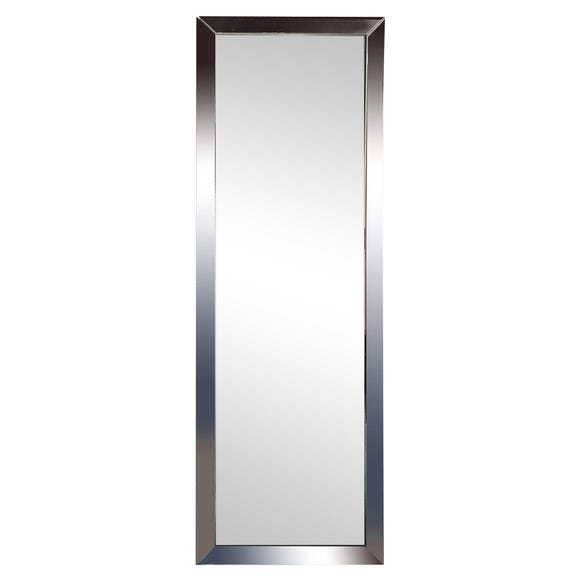 Oram Cheval Full Length Mirror 150x50cm Silver