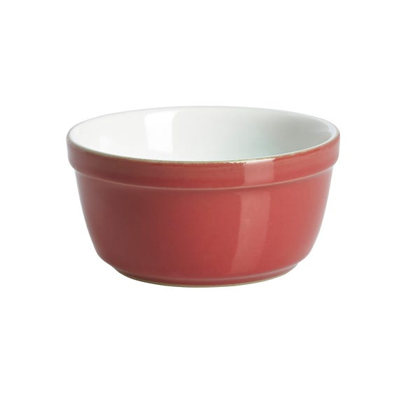 Denby Pomegranate Ramekin Red